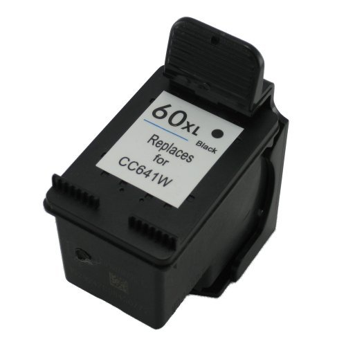 Free Remanufactured Ink Cartridge Replacement for HP 60xl CC641WN