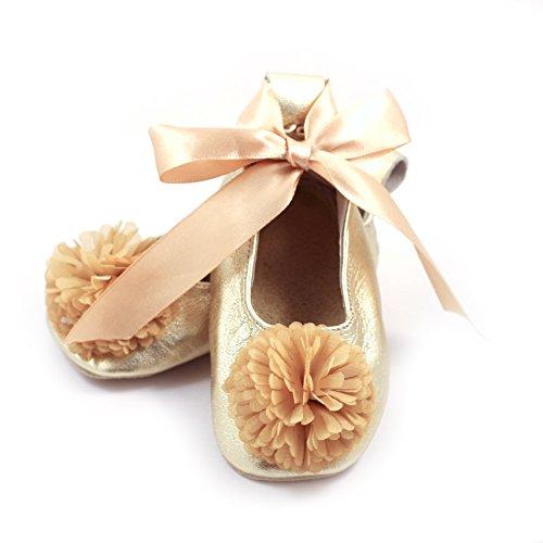 Ballet Flower Gold 0-6 mos