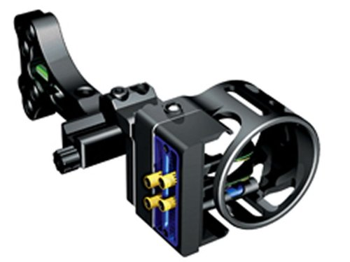 G 5 Outdoors Rock 4 Pin .019 Bow Sight (Black)
