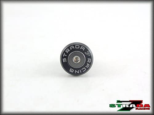 Strada 7 Racing CNC Windscreen Bolts M5 Wellnuts Set Black For BMW F650GS