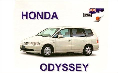Amazon In Buy Honda Odyssey 94 98 Owners Handbook Book Online At