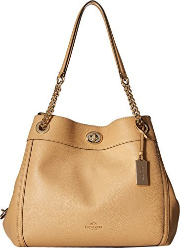 COACH Women's Turnlock Edie Li/Beechwood One Size