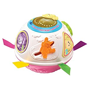 Vtech Baby Crawl and Learn Lights Ball Pink
