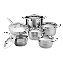 BergHOFF Hotel 12-Piece Stainless Steel Cookware Set