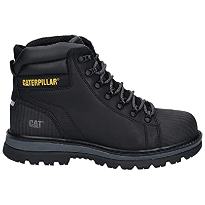 Caterpillar CAT Foxfield Mens Lace Up Safety Boot in Black - Size 9 UK - Black 4