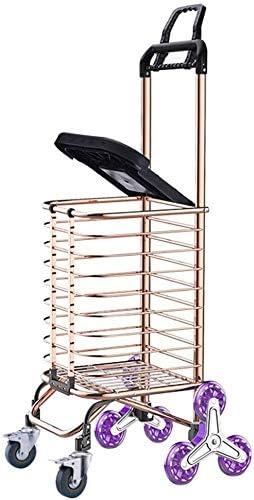 XINTONGLO Cesta Plegable portátil Puede Subir Las escaleras hasta artículos para el hogar La Carretilla de Las Compras pequeño Remolque: Amazon.es: Hogar