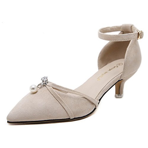Vrouw Wedge Abrikoos 1to9 Sandalen met 1to9mmsg00362 xnwA1I