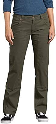 Dickies Womens Stretch Duck Double Front Carpenter Pant Work Utility Pants