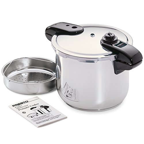presto 01370 8 quart stainless steel pressure cooker 11street malaysia slow pressure cookers. Black Bedroom Furniture Sets. Home Design Ideas