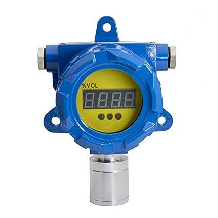 BH-60 Detector de Gas Fijo Detector de dióxido de nitrógeno Alta sensibilidad Larga Vida Pantalla LED Compensación de Temperatura: Amazon.es: Bricolaje y ...