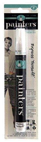 Elmer's Painters Opaque Paint Marker, Fine Tip, White