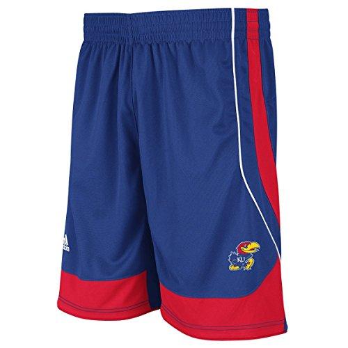 Adidas Shorts Kansas Jayhawks (adidas Kansas Jayhawks Men's Replica Basketball Shorts - Royal Blue (Medium))
