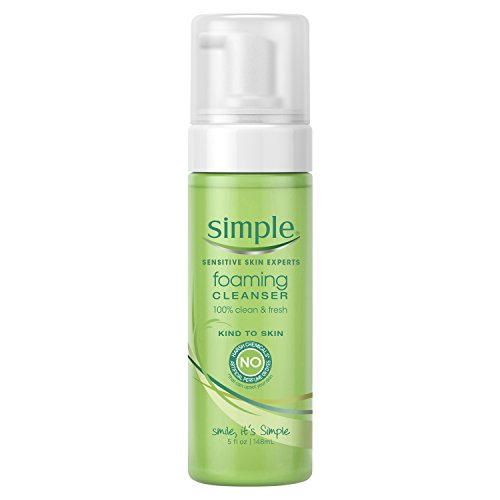 Simple Kind to Skin Facial Care, Foaming Facial Cleanser, 5 oz