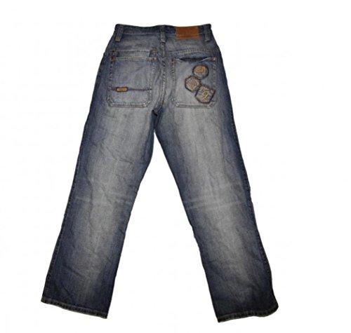 Wrung Skateboard Jeans Hose Denim Pant Blue