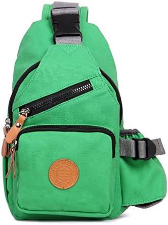 Eshow Women Chest Pack Shoulder Bag Sling Bag Morning Jogging Crossbody Bag