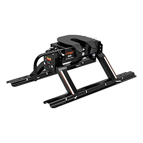 CURT 16116 E16 5th Wheel Hitch with Rails