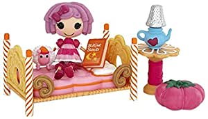 Mini Lalaloopsy Pillow's Sleepover Party Playset Featuring Pillow Featherbed