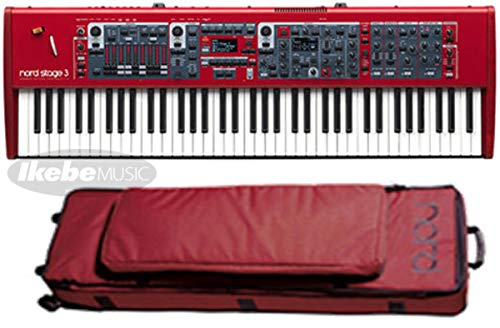 Nord(CLAVIA) Nord Stage 3 HP 76【純正キャリングケースセット】 B07QQK61VN