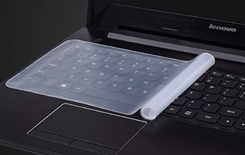 Fedus Universal Silicone Keyboard Protector Keyguard Skin Cover for 15.6 Inch Laptop