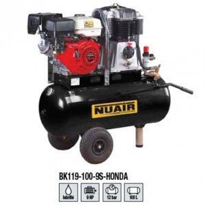 NuAir Compresor De Aire à Motor térmico rãservoir de 100 litros Motor Gasolina Honda de 9