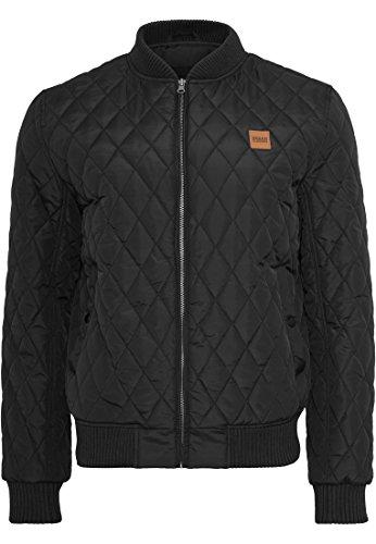 7 Jacket Giacca Nero Classics Diamond Quilt black Urban Nylon Uomo AIzq4w