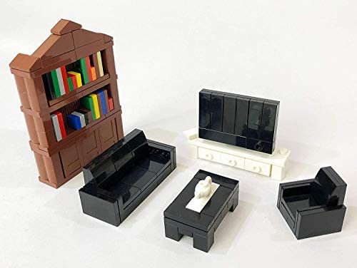 Brick Loot Apartment Living Furniture Brick Block Building Set Custom Designed Bricks Compatible With All Major Brands Amazon Sg Toys Games