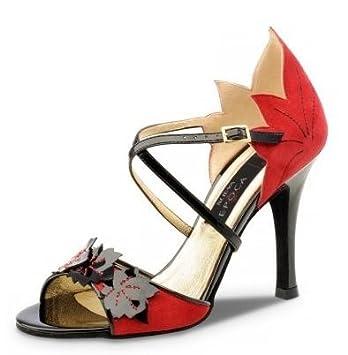 réduction jusqu'à 60% vente chaude pas cher sur les images de pieds de Chaussures danse femme Nueva Epoca Tamara pointure 35 Salsa ...