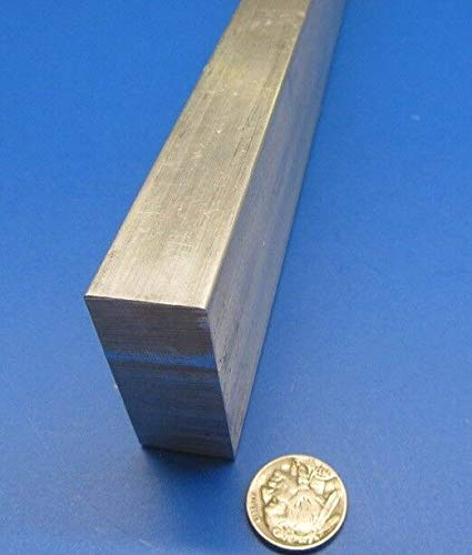 - JumpingBolt 6061 T651 Aluminum Bar, 7/8'' (.875'') Thick x 2.0'' Wide x 12'' Length Material May Have Surface Scratches