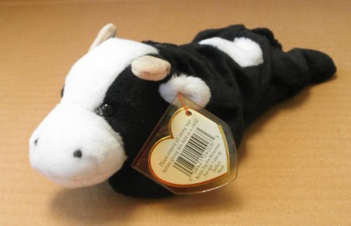 TY Beanie Babies Daisy the Cow Stuffed Animal Plush Toy - 8 inches tall