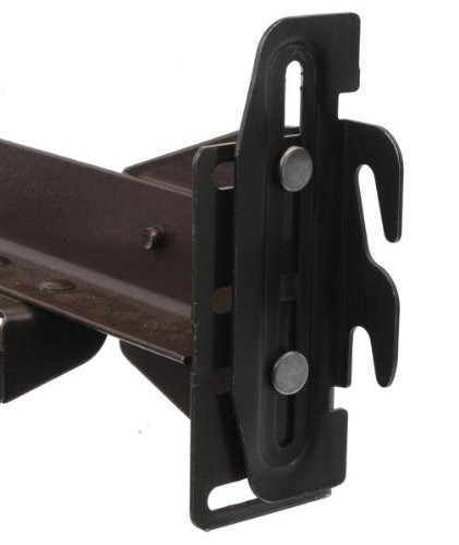 #35 Hook Plate Conversion Adapter Kit for Using a Bolt-On Frame with a Hook-On Headboard-- Pack of 4