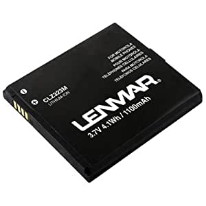 Motorola Droid A855, Droid 2 A955, Droid 2 Global, CLIQ, and CLIQ XT Replacement Battery by Lenmar