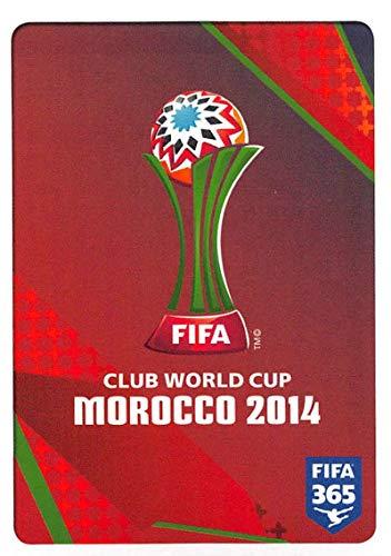 2015-16 Panini FIFA 365 Stickers Soccer #10 Logo FIFA Club World Cup Morocco 2014 Trading Card Sized Album Sticker