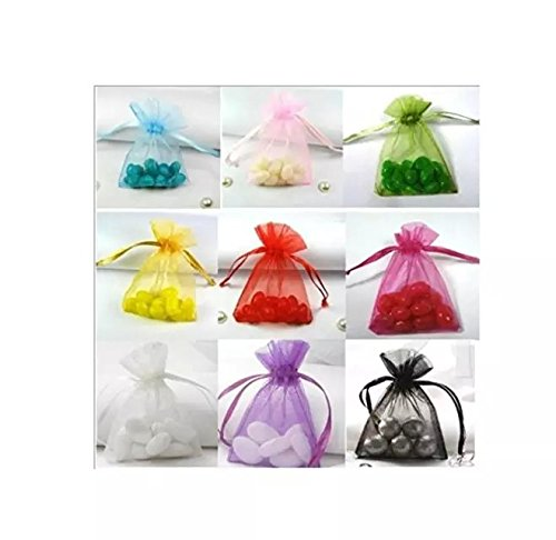 Coollooda Organza Jewelry Wedding Gift Pouch Bags