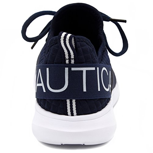 Nautica Kvinner Mote Jogger Sneaker (lisse-up / Slip-on) Marineblå Blonder-up