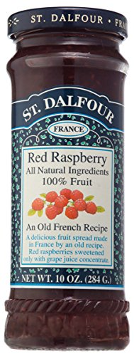 St. Dalfour Red Raspberry Fruit Spread, 10 (St Dalfour Raspberry Fruit)