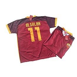 AS Roma Tricot M. Salah Rome réplique Officielle 2015-16Enfant Ans 12108642, Home 11