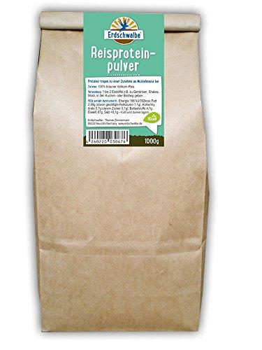 Erdschwalbe Reisprotein 1kg-Beutel - 87% Proteingehalt