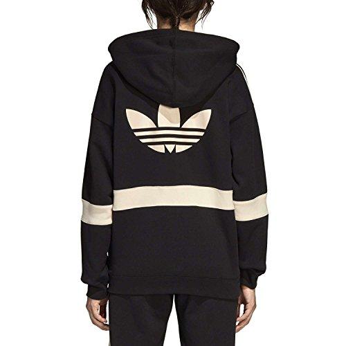 42 Hood C Tracktop Femme Noir Noir Veste adidas wT0SBn5xx