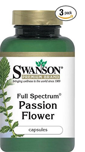 Full-Spectrum Passion Flower 500 mg 60 Caps by Swanson Premium (3) Review