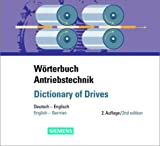 Wörterbuch Antriebstechnik/Dictionary of Drives : Deutsch-Englisch/English-German, , 3895781711
