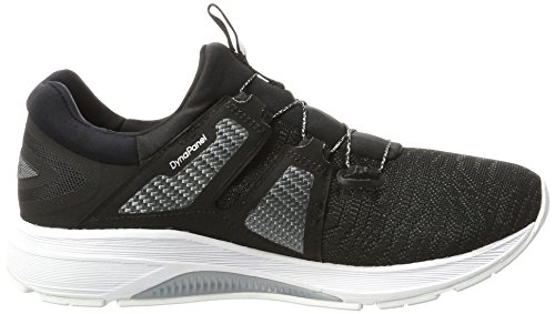 Asics Dynamis, Zapatillas de Entrenamiento para Mujer Multicolor (Carbon/black/white)