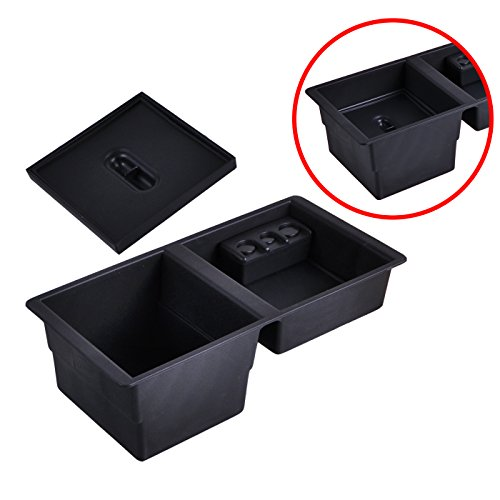 OHMU Vehicle Center Console Armrest Box Insert Organizer TrayGlove Box Storage For GM Vehicle Middle Insert