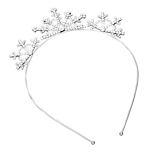 Rosemarie Collections Women's Holiday Tiara Headband