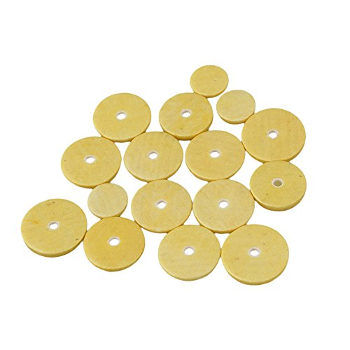 BQLZR Flute Parts Top Grade Pads 16Pcs Great Material Tone