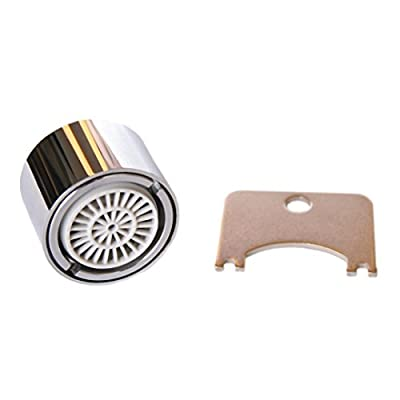 Water Saving Faucet Aerator with Adjustable Water Flow and Anti-Theft Lock - Female