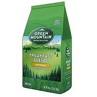 Green Mountain Coffee Roasters Breakfast Blend Light Roast 18 oz