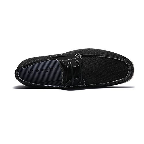 Province Men's Slip Shoes Loafers black Marc 2 On Fabric Bruno UEq5wZx