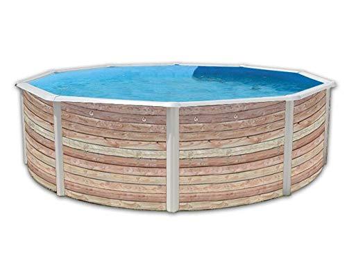 diseño único TOI - Piscina Piscina Piscina PINUS CIRCULAR 350x120 cm Filtro 3,6 m³ h.  ¡no ser extrañado!