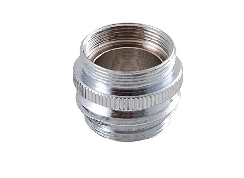 LDR Industries 530 2050 Faucet To Hose or Aerator Adapter Lead Free, Chrome