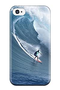Iphone 4/4s Cover Case - Eco-friendly Packaging(surfing )